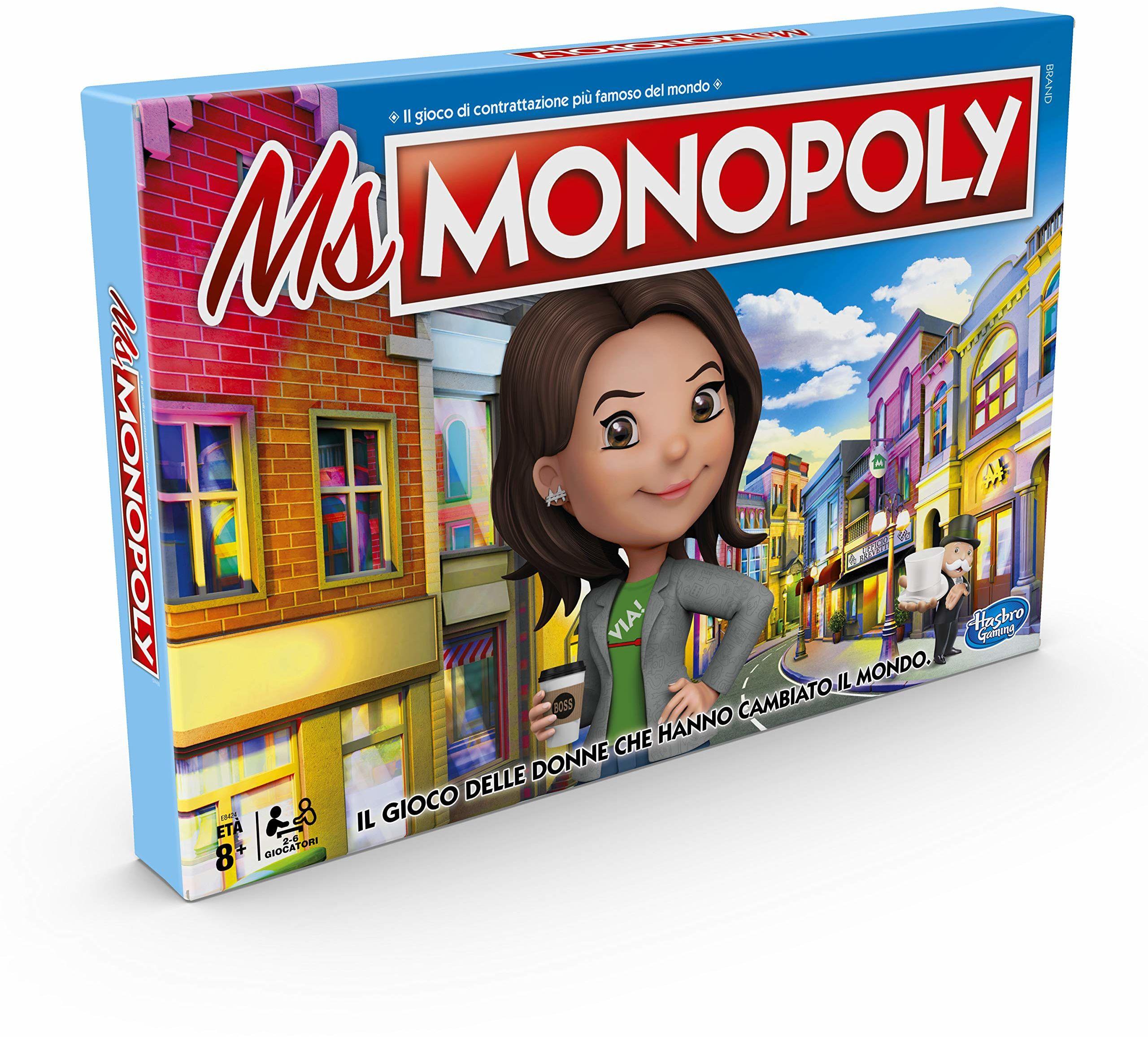 Hasbro Monopoly - Ms Monopol, wielokolorowy, E8424103