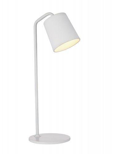 Lampa biurkowa FLAMING biała