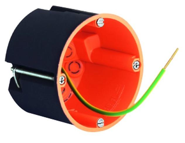 Ekranowa puszka osprzętowa / rozgałęźna 68 / 68 mm