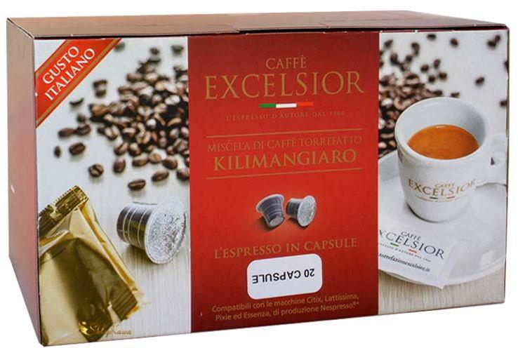 Excelsior Kilimangiaro Nespresso 20 kapsułek