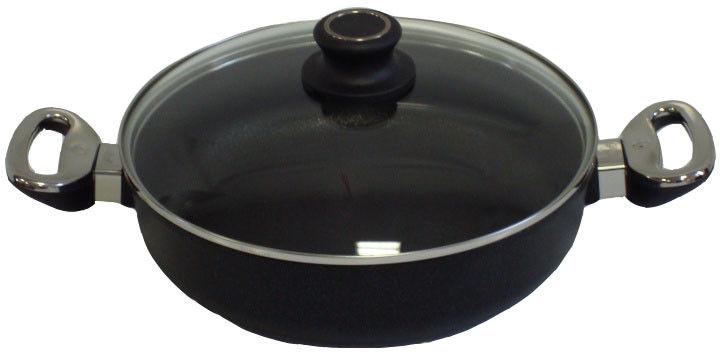 Rondel tytanowy 26 cm z pokrywą 3,5 litra - BAF