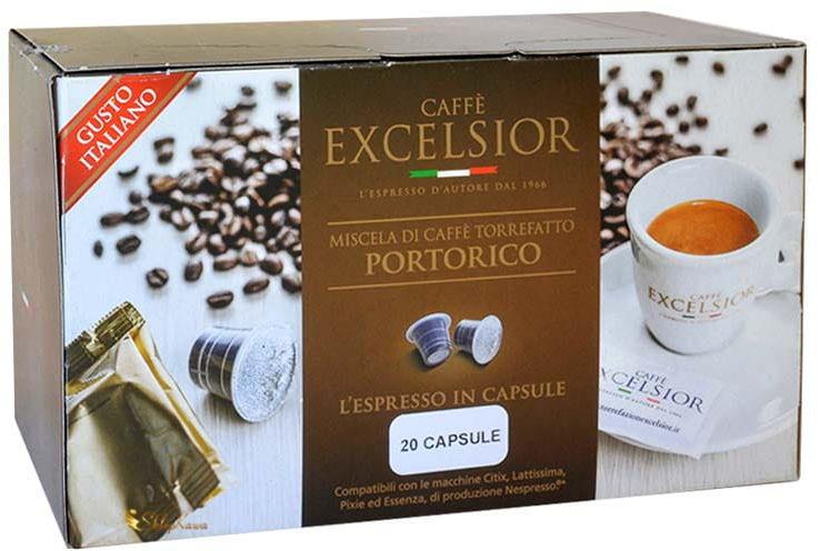 Excelsior Portorico Nespresso 20 kapsułek