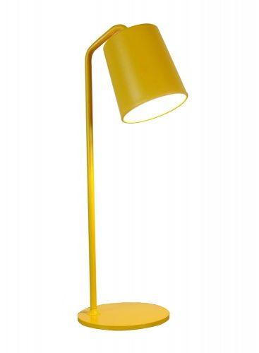 Lampa biurkowa FLAMING żółta