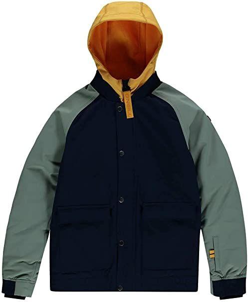 O''Neill Decombe-bomber Jacket Jacket Snow niebieski Ink Blue 128