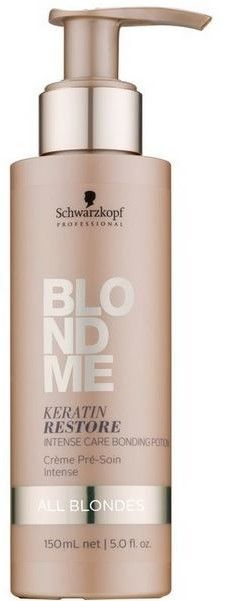 SCHWARZKOPF BLONDME - Keratin Restore Intensywna kuracja scalająca strukturę włosa ALL BLONDES 150 ml ( NOWA SZATA )