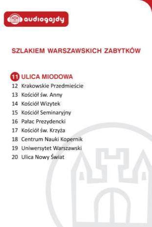 Ulica Miodowa. Szlakiem warszawskich zabytków - Ebook.