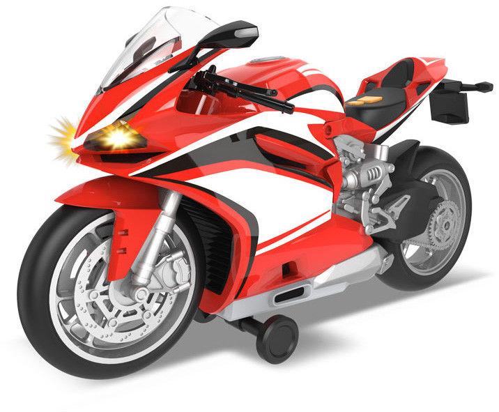 Dumel Odjazdowa Flota Miejska Sportowy motocykl czerwony 68811