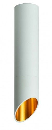 Plafon SARATOGA L ZT-810-BIAŁA Auhilon lampa sufitowa w kolorze bieli i złota