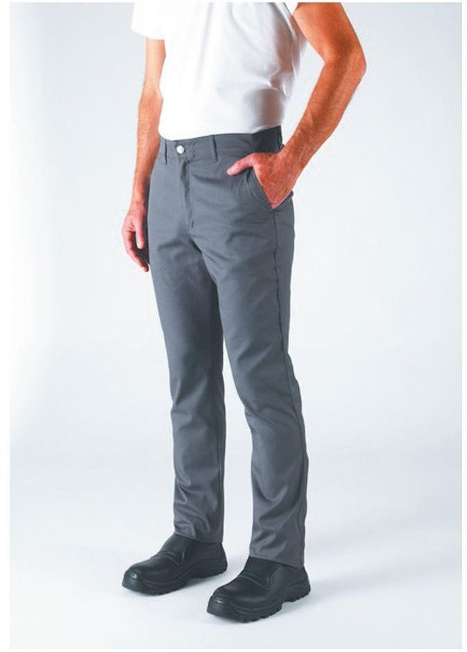 Spodnie kucharskie Blino grafit XL