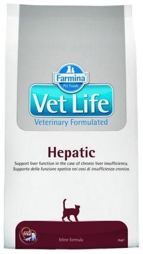 FARMINA Vet Life Cat Hepatic 2kg+ 400g
