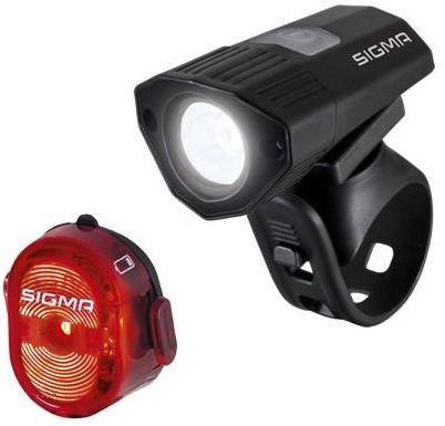 SIGMA zestaw oświetleniowy przód + tył BUSTER 100 K-SET,4016224187751