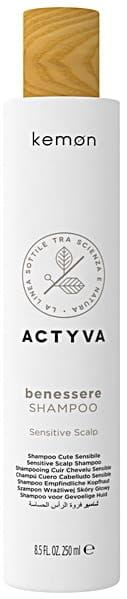Kemon Actyva Benessere szampon wrażliwa skóra głowy 250ml