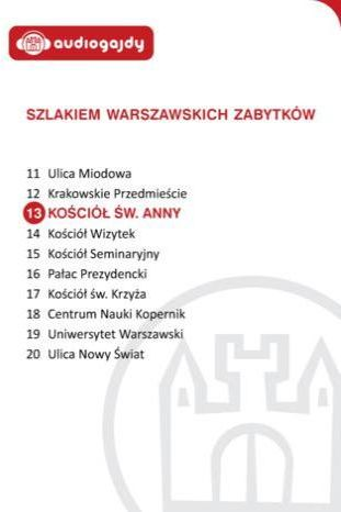 Kościół św. Anny. Szlakiem warszawskich zabytków - Ebook.