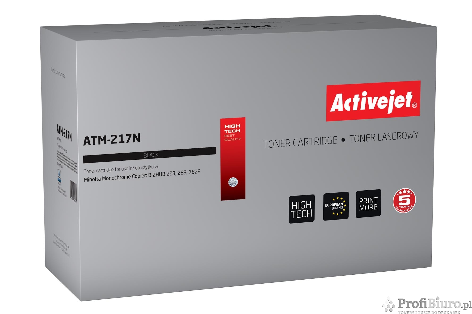 Toner Activejet ATM-217N (zamiennik Konica Minolta A202051; Supreme; 17 500 stron; czarny)