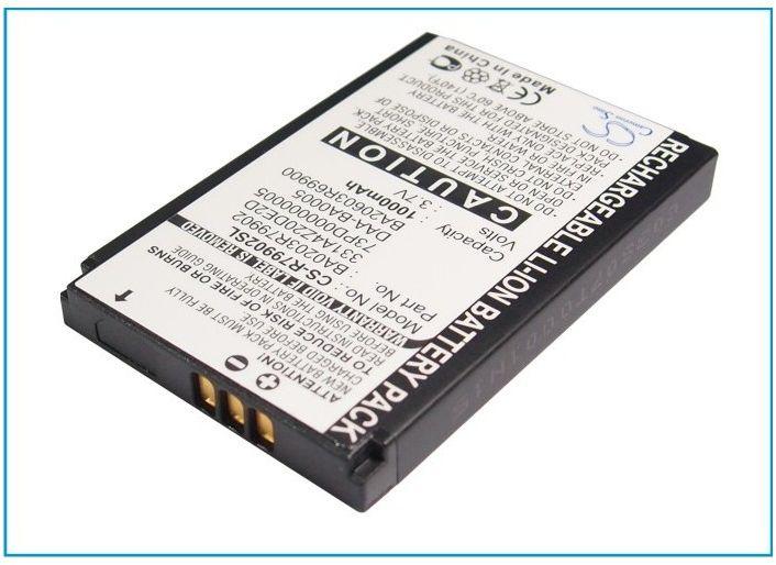 Creative NOMAD Jukebox Zen NX / BA20203R79902 1000mAh 3.70Wh Li-Ion 3.7V (Cameron Sino)
