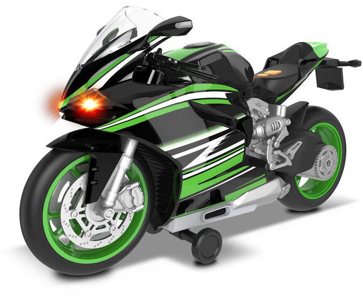 Dumel Odjazdowa Flota Miejska Sportowy motocykl zielony 68801