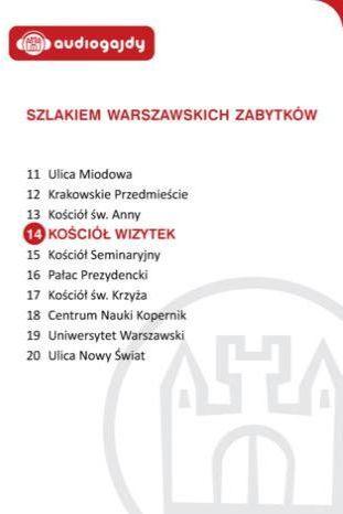 Kościół Wizytek. Szlakiem warszawskich zabytków - Ebook.