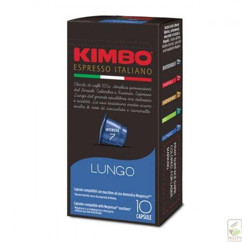 Kimbo Espresso Lungo 10 kapsułek Nespresso