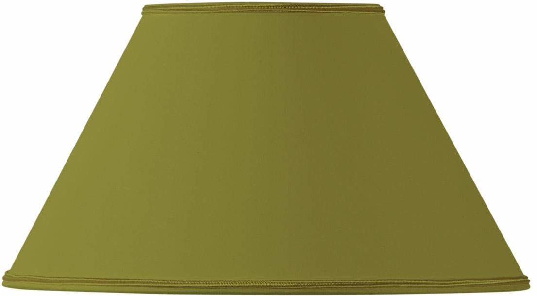 Klosz lampy, wiktoriański, Ø 25 x 11 x 15, zielony brąz