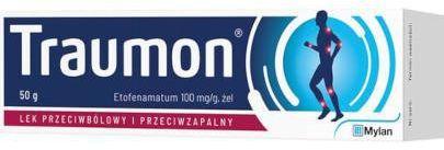 Traumon 100mg/g żel 50 g