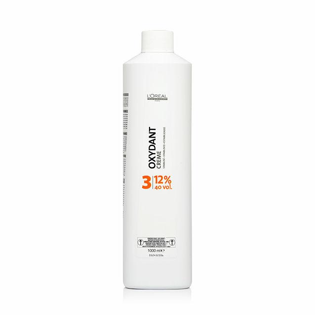 Loreal Oxydant Creme Stabilised 12% Stabilizowana woda utleniona w kremie 1000 ml
