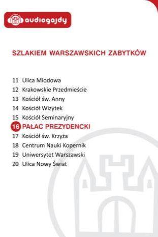 Pałac Prezydencki. Szlakiem warszawskich zabytków - Ebook.
