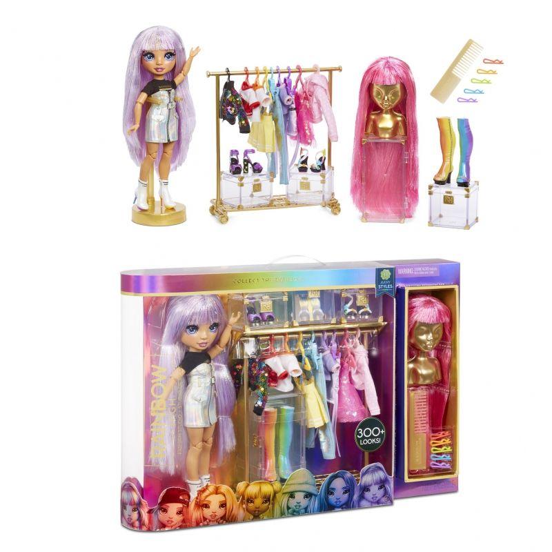 Rainbow High - Studio mody Fashion Studio z lalką Avery Styles LK