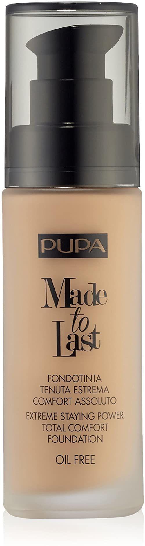 Pupa Made To Last Foundation 040 Medium Beige, 30 ml