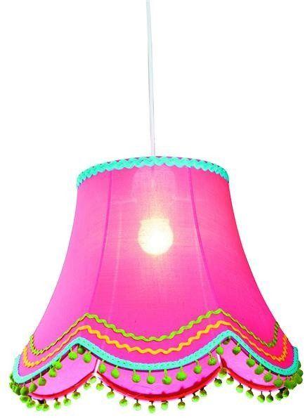 ARLEKIN LAMPA WISZĄCA 35 1X60W E27 RÓŻOWY