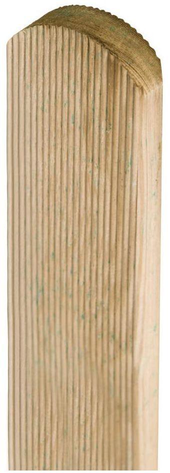 Sztacheta drewniana 80 x 7 x 2 cm frezowana STELMET