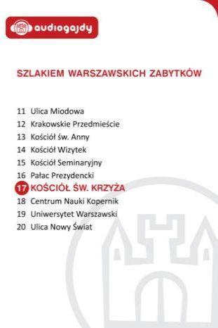 Kościół św. Krzyża. Szlakiem warszawskich zabytków - Ebook.