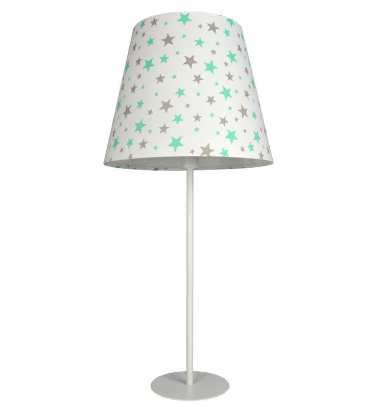 Lampa stołowa Gwieździsta Mięta