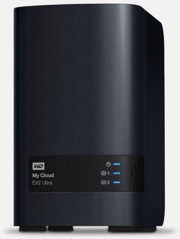 Serwer plików NAS WD My Cloud EX2 Ultra 6TB (WDBVBZ0060JCH)