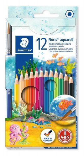 Kredki akwarelowe STAEDTLER Noris Club (12 kolorów) 144 10NC12