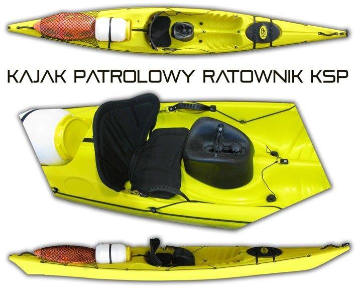 Kajak patrolowy KSP