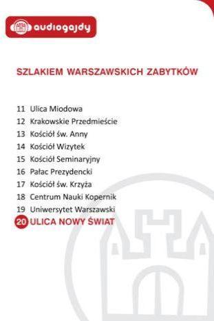 Ulica Nowy Świat. Szlakiem warszawskich zabytków - Ebook.