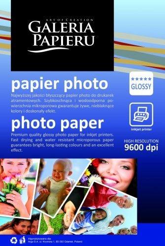 Papier photo 10x15cm - glossy - 180 g/m2 - 50 ark / fotograficzny błyszczący