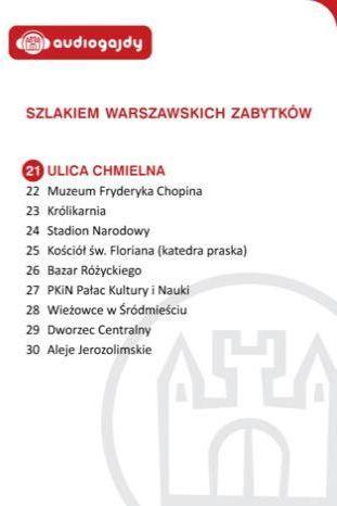 Ulica Chmielna. Szlakiem warszawskich zabytków - Ebook.