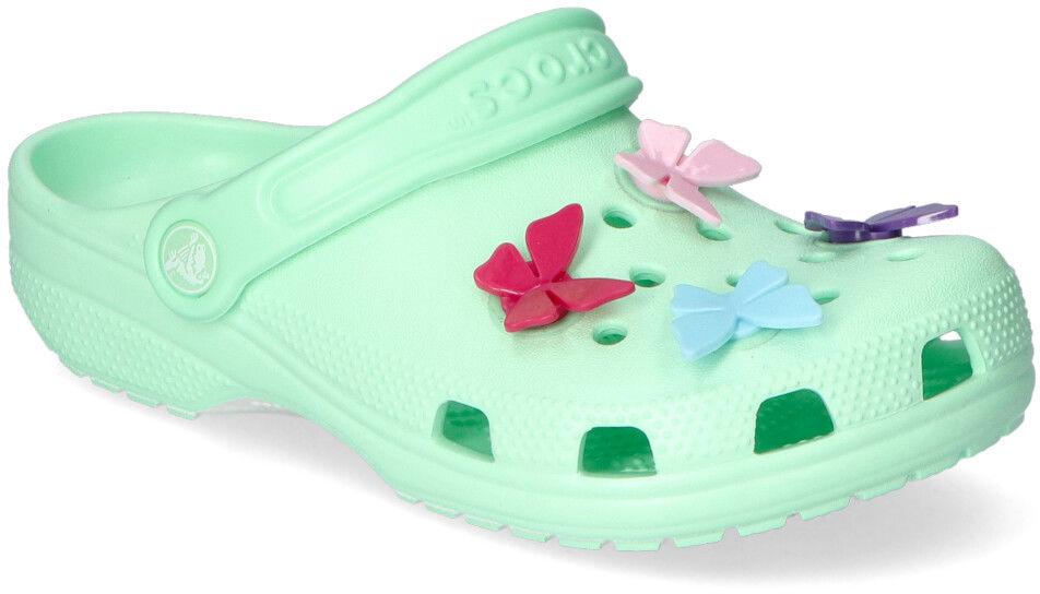 Klapki Crocs CLASSIC BUTTERFLY 206179-3TI Miętowe