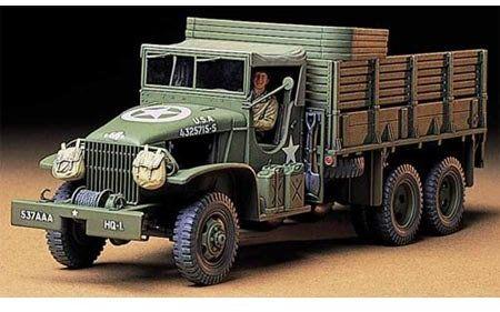 TAMIYA TMYTAM35218 35219 - 1:35 US 2.5to Transport ciężarówka (1), modelarstwo, plastikowy zestaw budowlany, majsterkowanie, klejenie, plastikowy zestaw do montażu