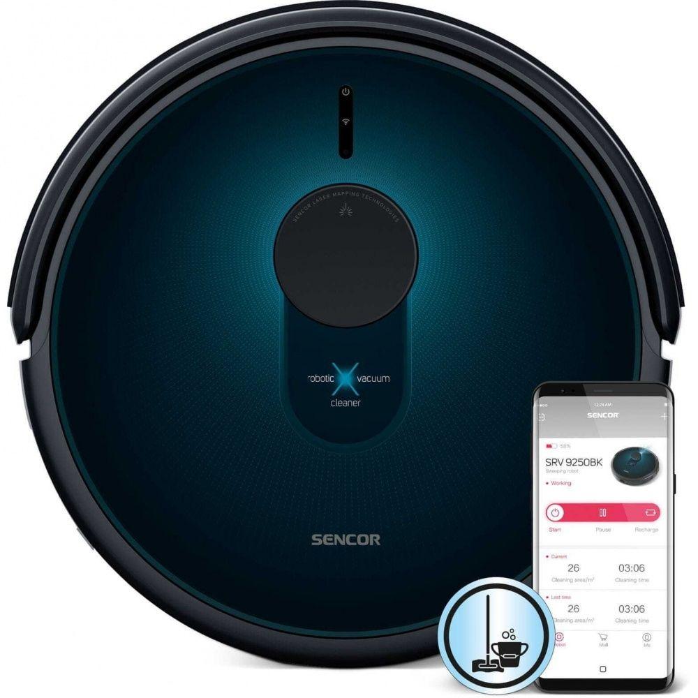 Sencor SRV 9250BK - Odkurzacz automatyczny