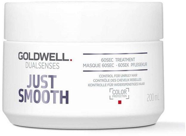 GOLDWELL DUALSENSES - JUST SMOOTH - 60 sekundowa maska wygładzająca do włosów 200 ml