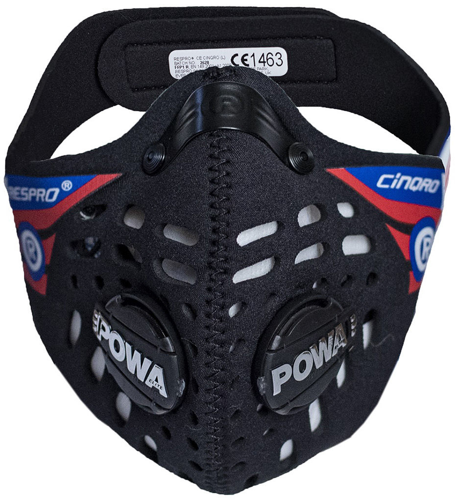 Maska antysmogowa Respro CE Cinqro Black (RCEC19-BK)