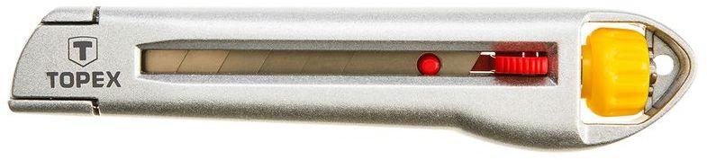 Nóż z ostrzem łamanym 18 mm metalowy korpus 17B103