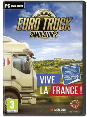 Dodatek do gry Euro Truck Simulator 2: Vive la France!