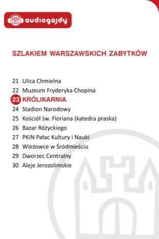 Królikarnia. Szlakiem warszawskich zabytków - Ebook.