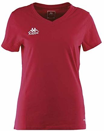 Kappa Tabbiano T-shirt, damski, fuksja, 2XS