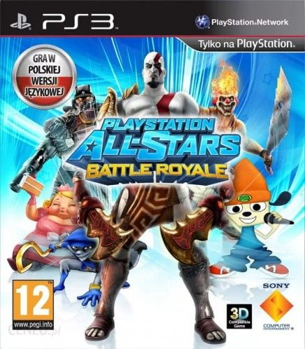 PlayStation All-Stars Battle Royale PS3 Używana