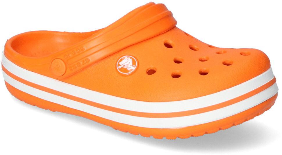 Klapki Crocs CROCBAND CLOG K 204537-810 Pomarańczowe
