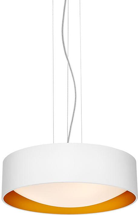 Lampa wisząca Vero 10449301 oprawa biała / złota Kaspa